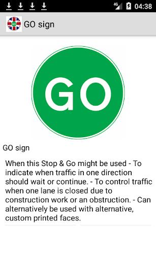 Road signs (Traffic Signs) United Kingdom  screenshots 5