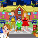 Town Orphan House: Pretend Home Games icon