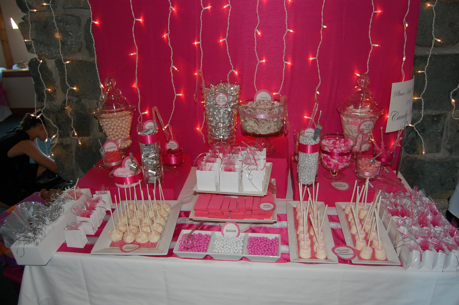 Karlees Blog Candy Buffet Wedding
