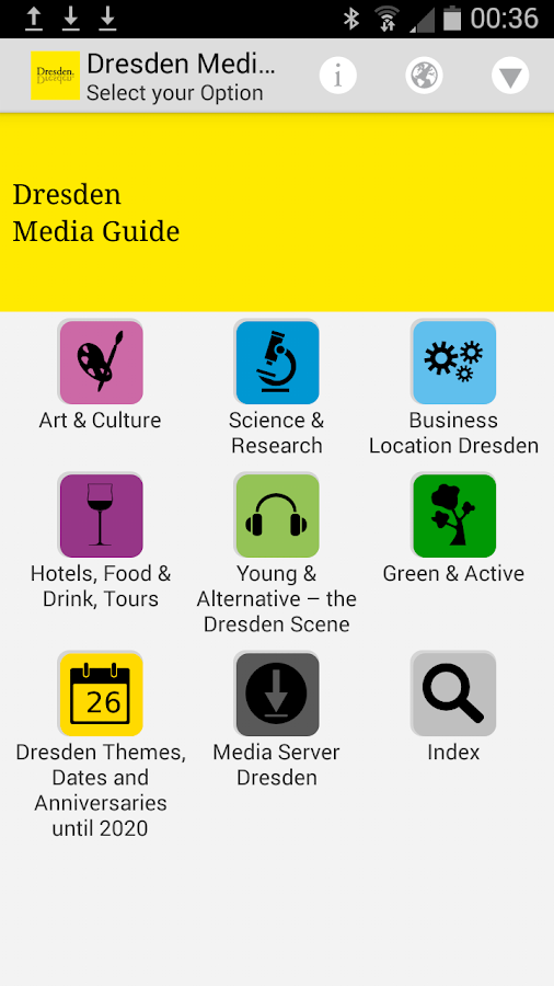 Dresden Media Guide – Screenshot