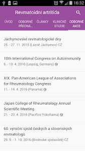 Revmatoidní artritida screenshot 1