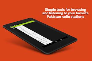 Screenshot of Pakistan Radios Free