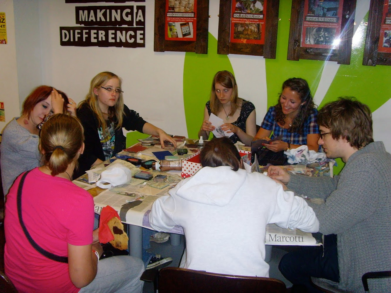Card Making at Cafe Africa!