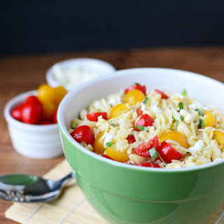 Tomato Orzo Salad with Feta