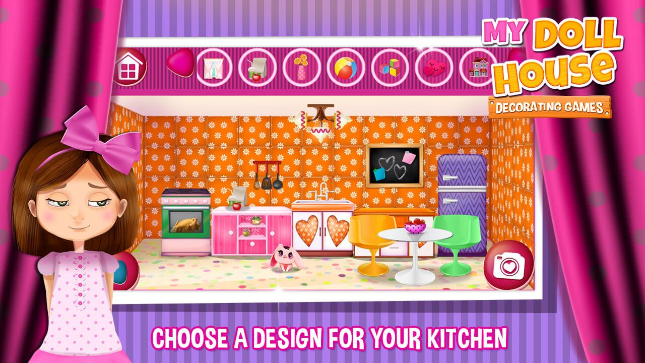 My Doll House Decorating Games  screenshot. My Doll House Decorating Games   Android Apps on Google Play