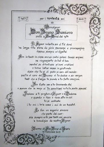 testo della poesia di Sandro Bincoletto