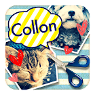 写真文字入れ・切り取りコラージュ 画像加工アプリ-コロン icon