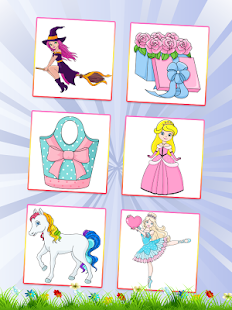 Princess Coloring for Kids- screenshot thumbnail