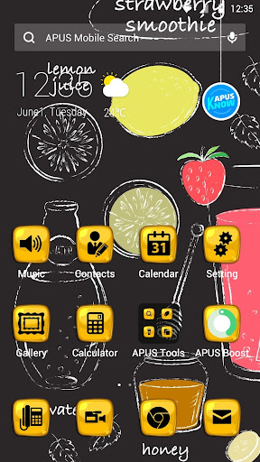 Honey theme for APUS