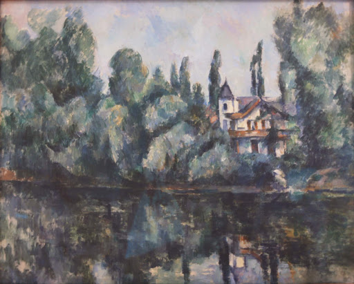 "paul-cezanne-banks-of-the-marne.jpg -  Paul Cezanne, ""Banks of the Marne,"" 1888, oil on canvas."