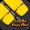 Crazy Bus Racing Mania icon