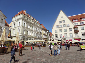 Photo: The Town Square has been here for over 1,000 years.  We heard part of a concert here.