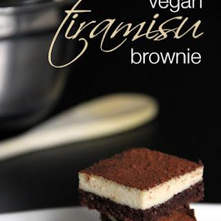 Vegan Tiramisu Brownies (gluten-free)