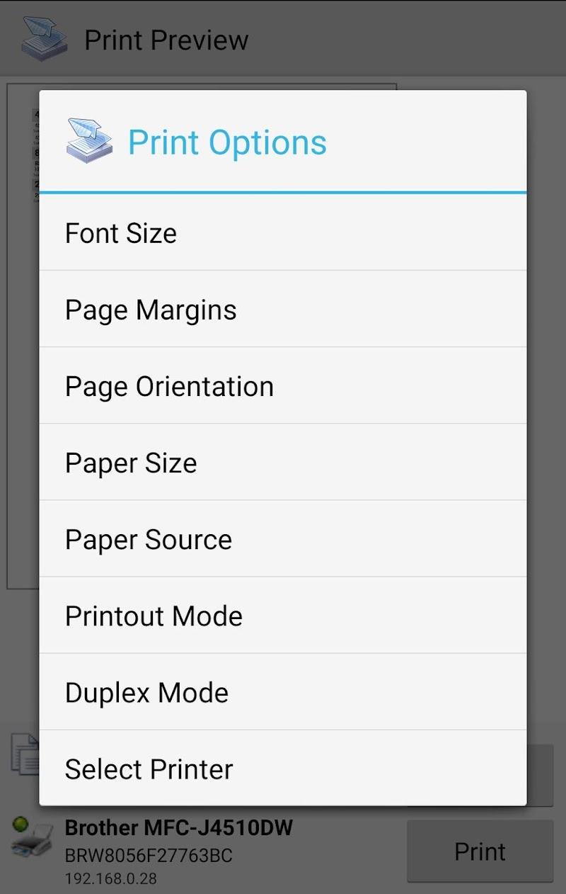 Mobile Print - PrinterShare Screenshot 3