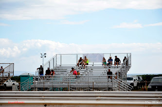 Photo: New grandstand. I'd give a plug to who provided it, if I could only remember.