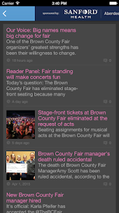 Brown County Events- screenshot thumbnail