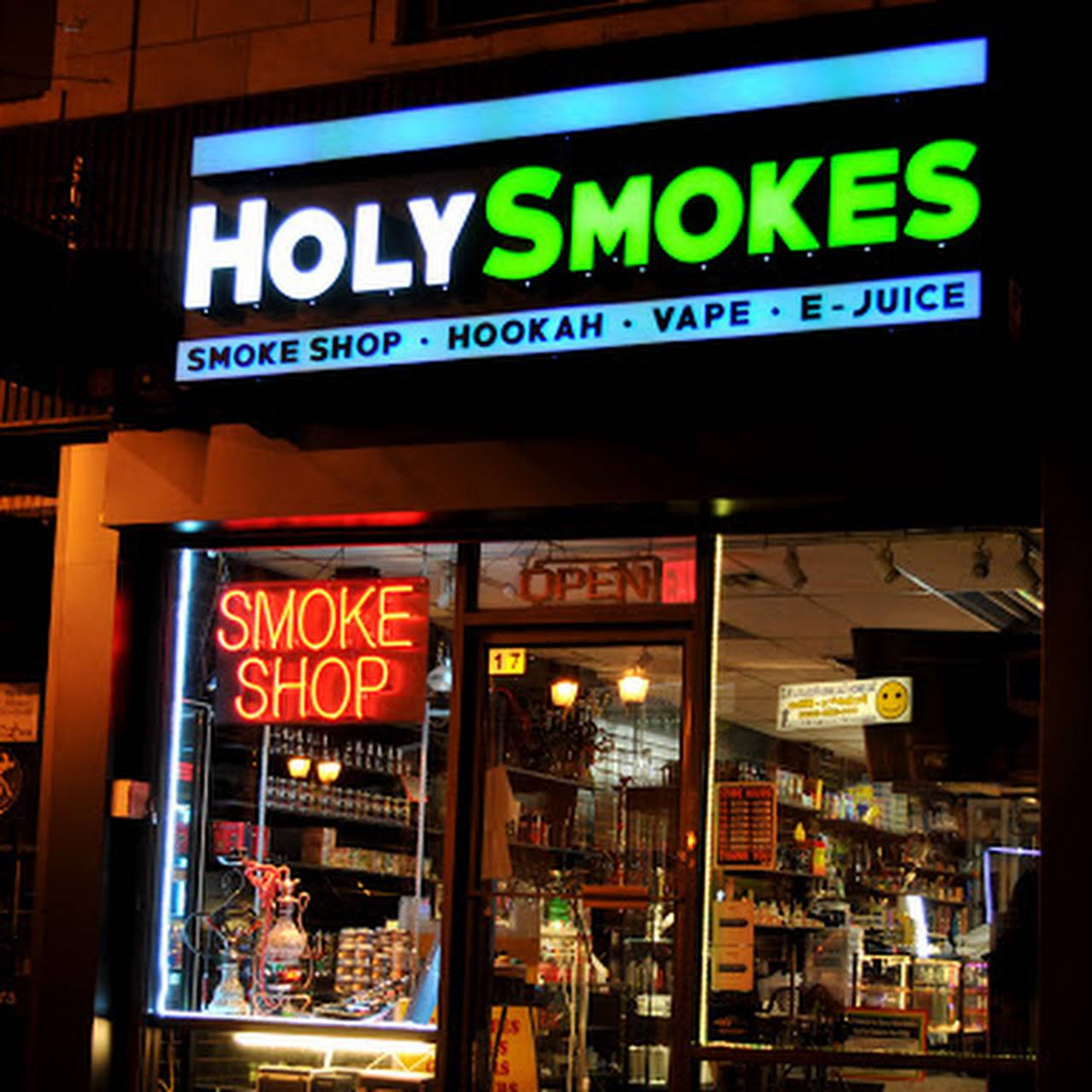 Holy Smokes NJ - Tobacco vape Shop in Elizabeth NJ