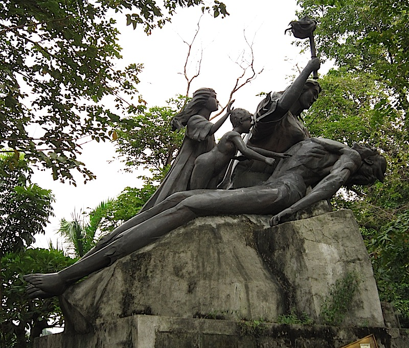 Binhi ng Kalayaan monument and time capsule in Rizal Park
