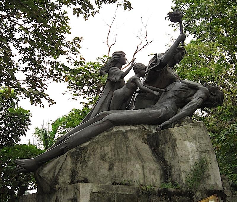 Binhi ng Kalayaan monument and time capsule in Rizal Park