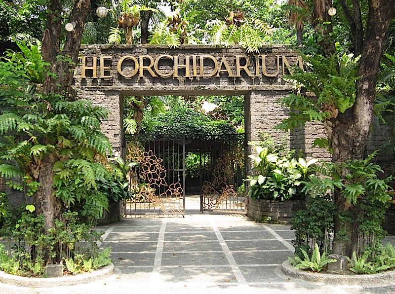 The Orchidarium at the Rizal Park