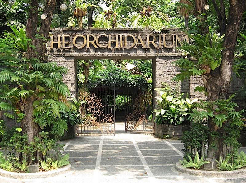The Orchidarium at the Rizal Park