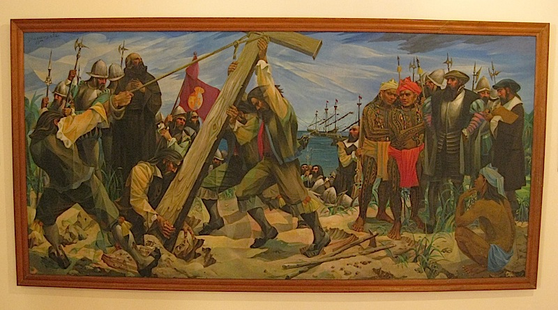 Vicente Manansala's 'Planting of the First Cross'