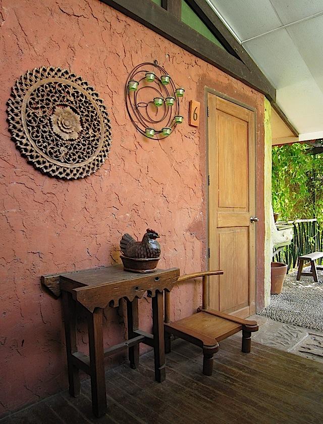 outside room 6 of Casa San Pablo