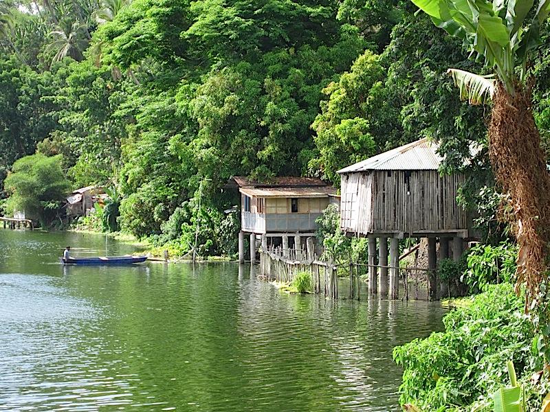 Lake Sampaloc in San Pablo City