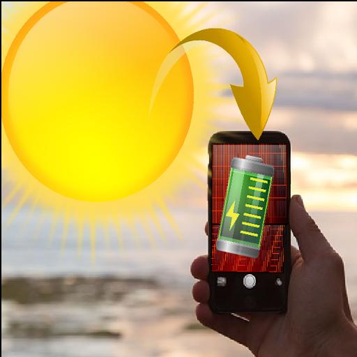 Caricatore scherzo solare