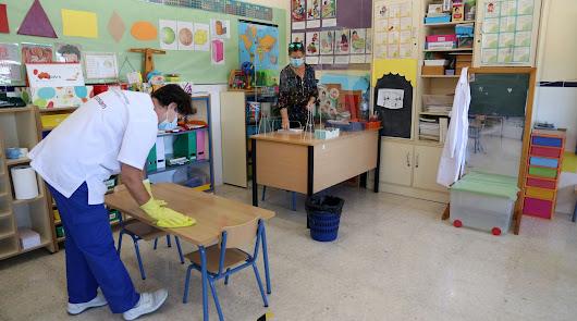 Ya hay más de 200 profesores y alumnos aislados por la Covid-19 en la provincia