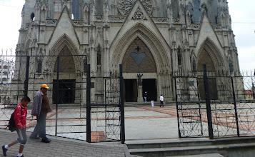 Photo: The facade, nearer view