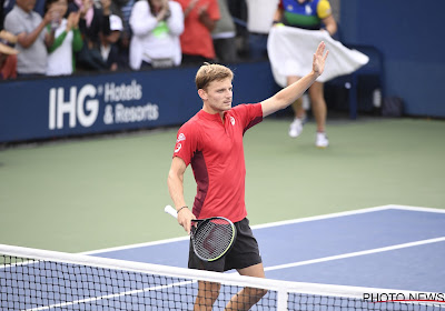 David Goffin verslaat Corentin Moutet in vier sets