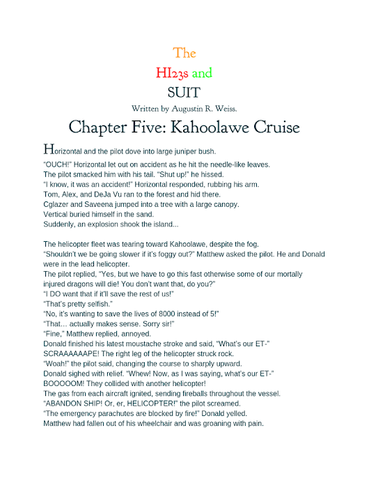 Chapter Five - Kahoolawe Cruise