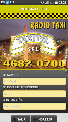 Taxistas Radio Taxi Taxitel  screenshots 1