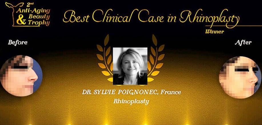 Le Dr. Sylvie POIGNONEC a reçu le Prix Du Meilleur Cas Clinique En Rhinoplastie