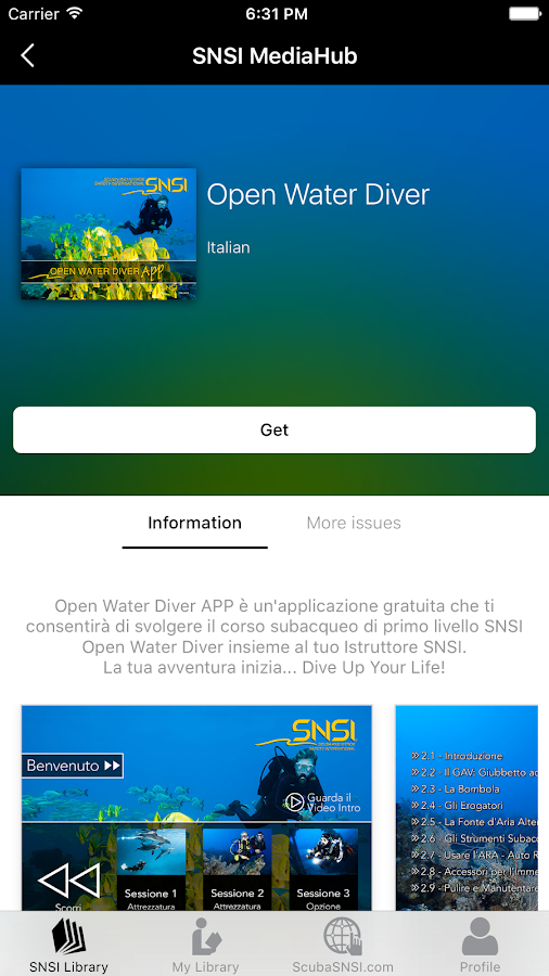 SNSI MediaHub- screenshot