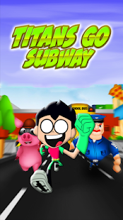 Titans Go Subway - náhled