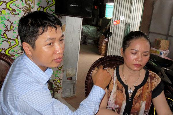 Anh Đỗ Hữu Sơn chữa bệnh bằng phương pháp Diện Chẩn