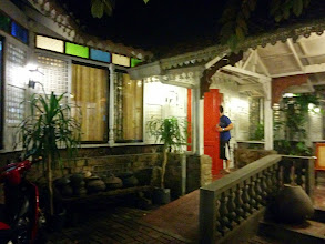 Photo: Outside Hapag Vicentico's, truly Filipino.