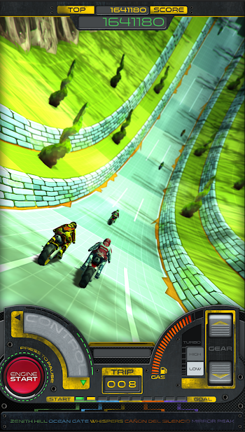Moto RKD dash- screenshot