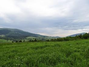 Photo: 12.Po lewej Lubogoszcz (967 m). Po prawej Śnieżnica (1007 m).