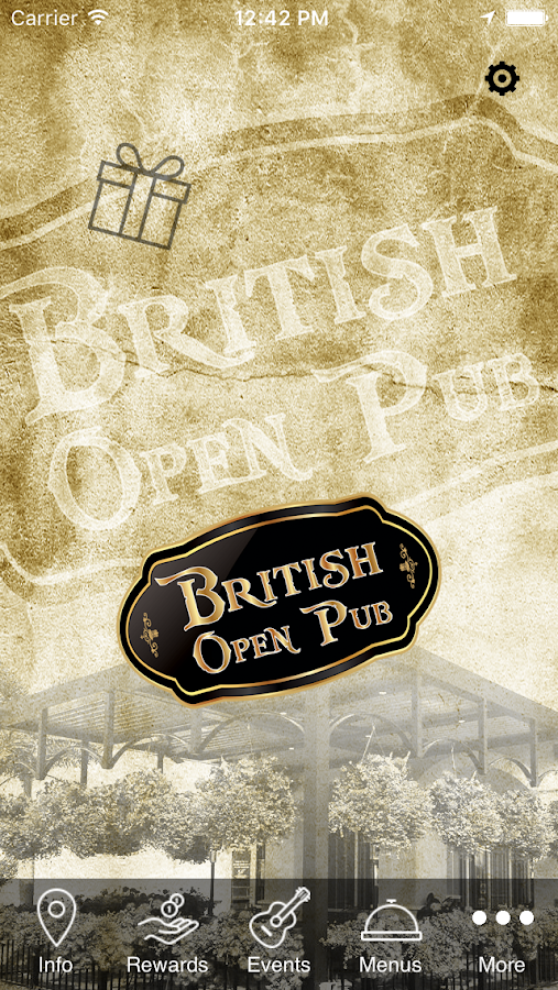 British Open Pub- screenshot