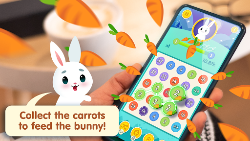Bunny Connect: Match Colours, Numbers & Bubbles screenshot 4