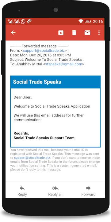 Social Trade Biz - Speaks- screenshot