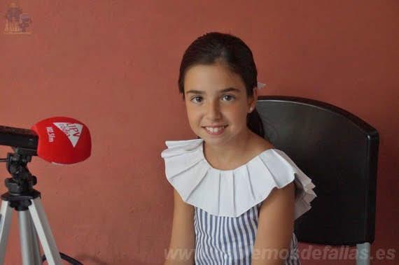Entrevistas a Candidatas infantiles a Cortes de Honor. La Roqueta - Arrancapins. #Elecció19