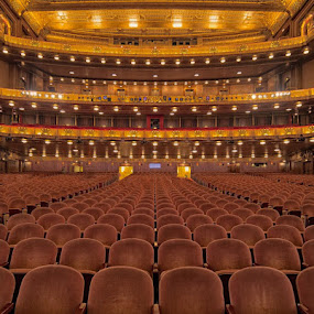 Civic Opera House, Chicago, Home of The Lyric Opera by Jay Anderson - Buildings & Architecture Other Interior ( lyric, opera, chicago )