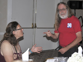 Photo: Helen Jaccard and Jim Summers