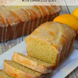 Limoncello Cake with Limoncello Glaze.