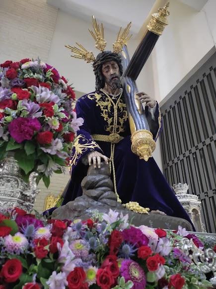 Salud y Pasión, la primera devoción que sale desde el inicio de la pandemia en Almería.