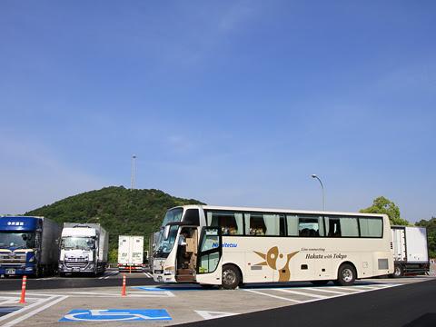 西鉄「はかた号」 0001 佐波川サービスエリアにて_01